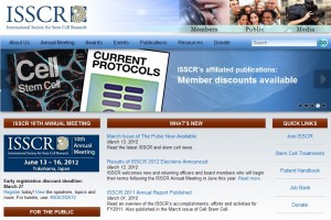 International Society for Stem Cell Research